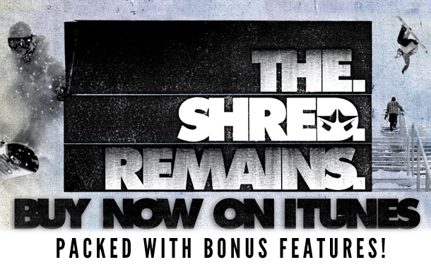 The Shred Remains – out now on iTunes!