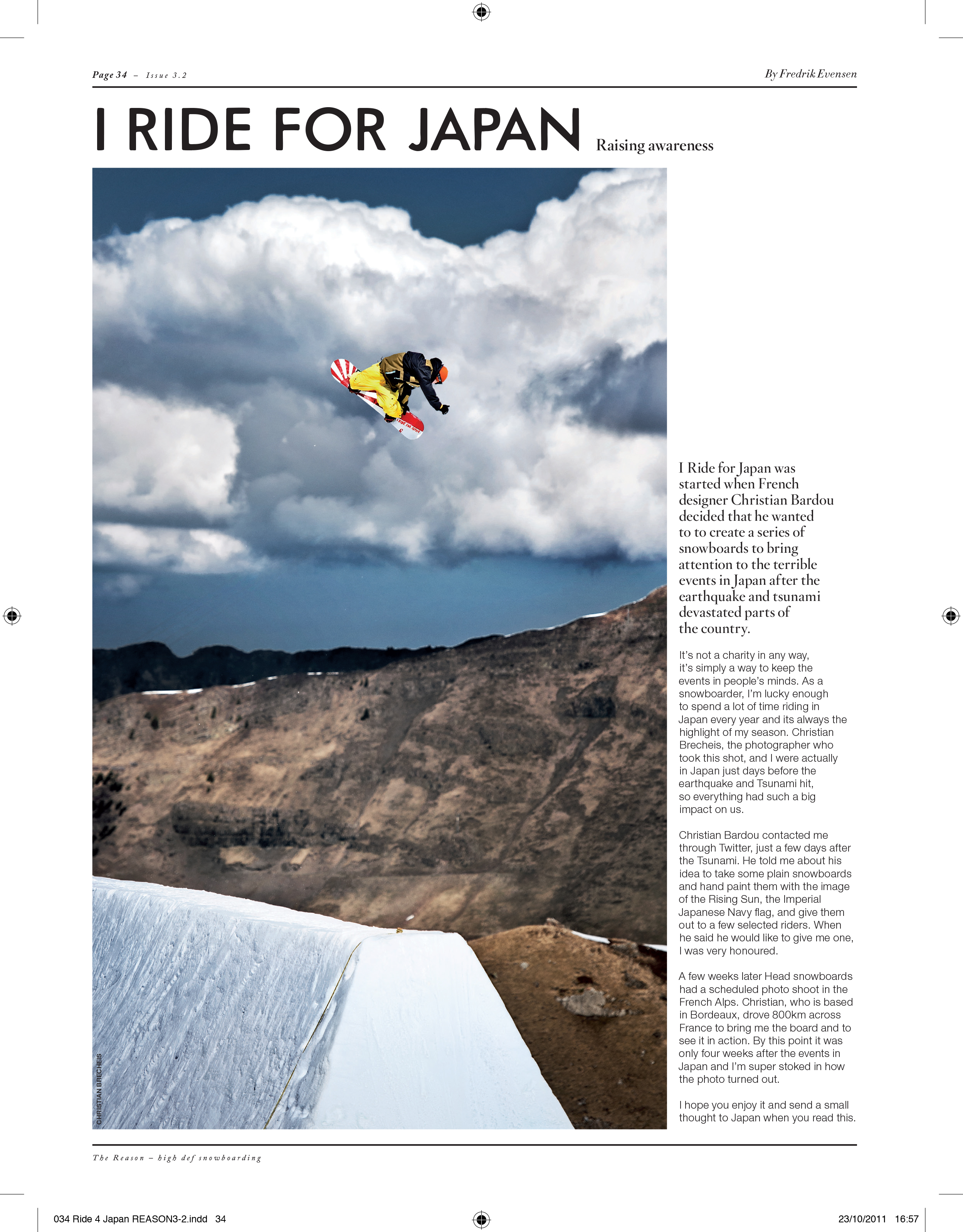 Flashback: I Ride for Japan
