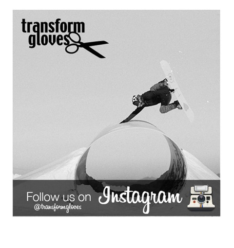 Transform gloves on Instagram