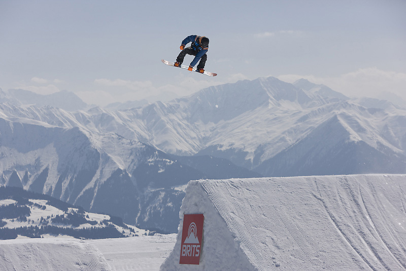 The Brits 2012 - Big Air - Laax - Switzerland by Sam Mellish