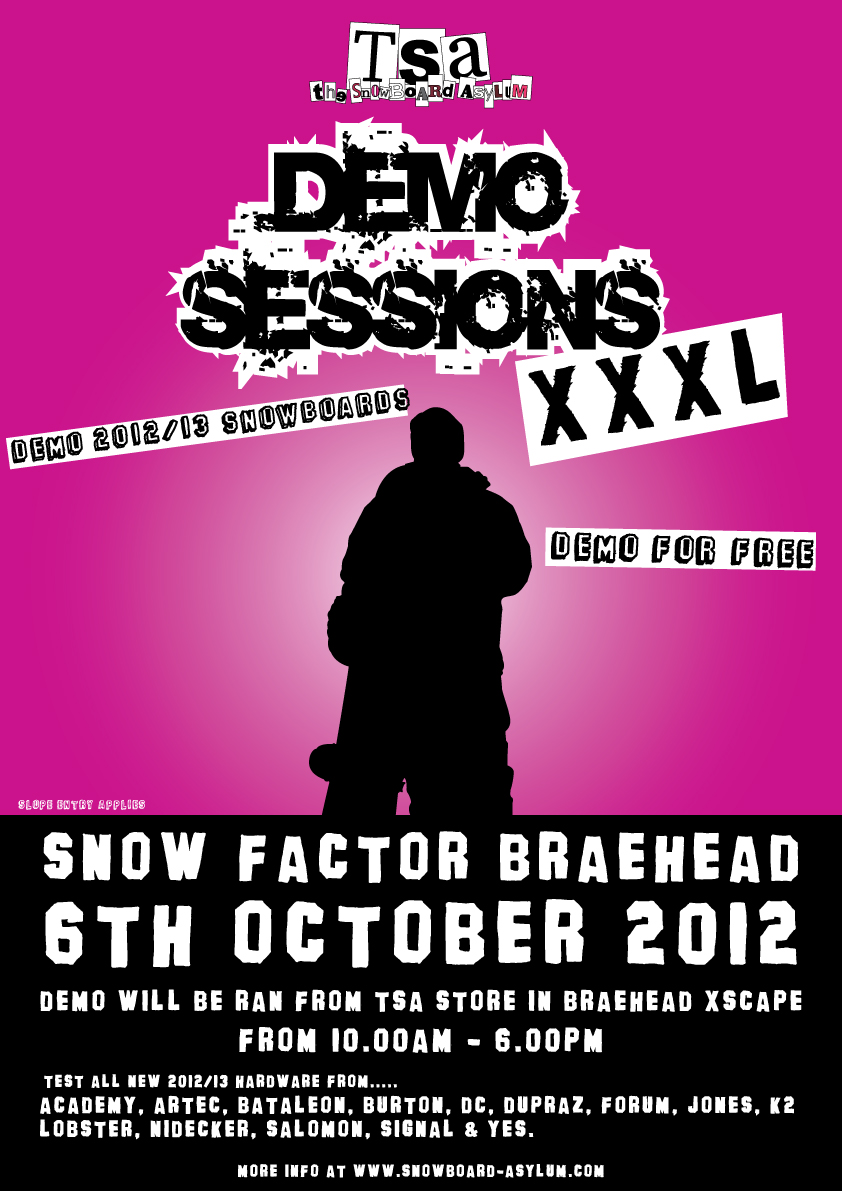 THE XXXL BRAEHEAD DEMO SESSION
