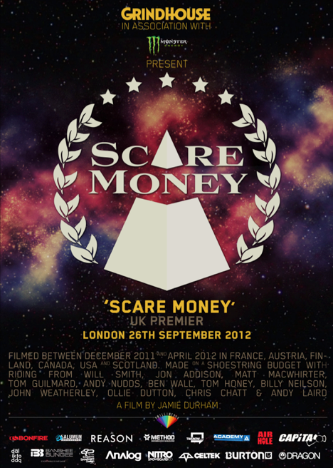 Scare Money premiere – you can be there!