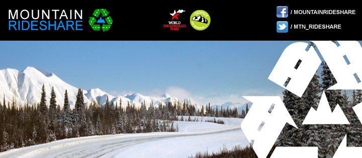 Mountain Rideshare x World Snowboard Tour