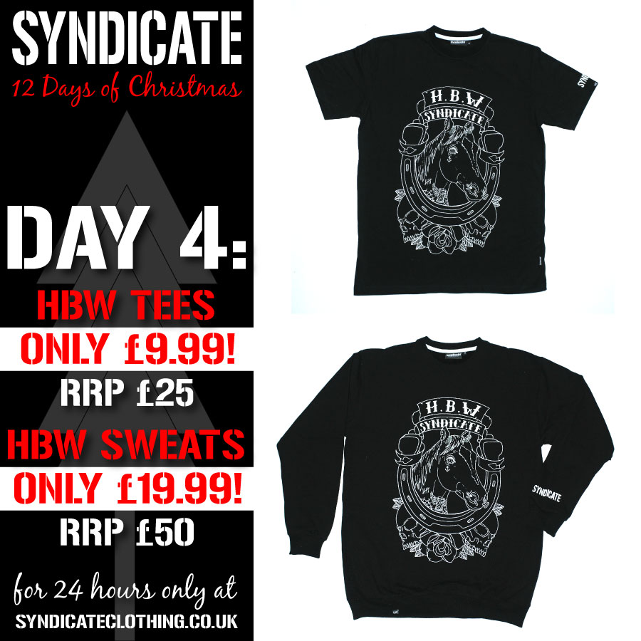Syndicate 12 Days of Christmas – Day 4