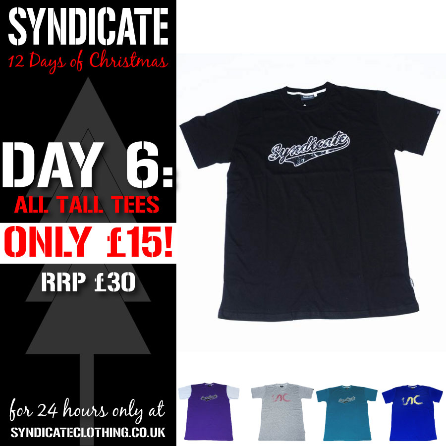 Syndicate 12 days of Christmas – day 6