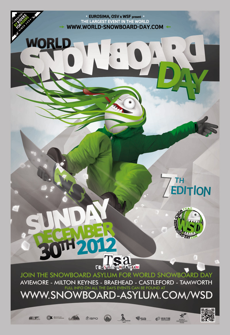 What are you doing for World Snowboard Day?