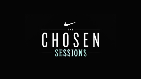 Behind the scenes at the Nike Chosen sessions…