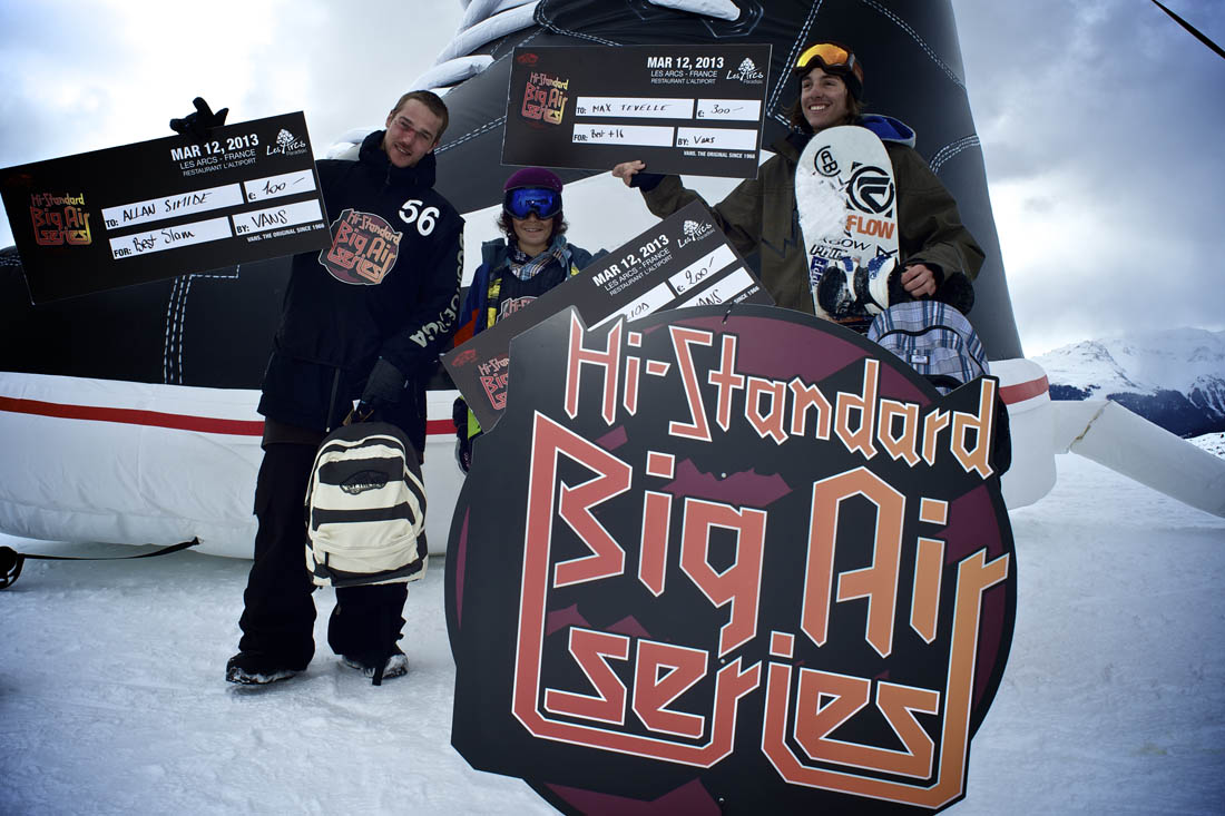 Vans Hi-Standard Series dropped in with style in Les Arcs