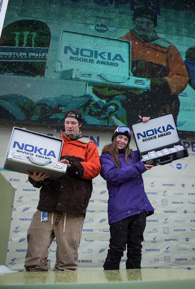 nokia_rookie_award_winners_Darcy Sharpe (left) and Brooke Voigt (right) 1