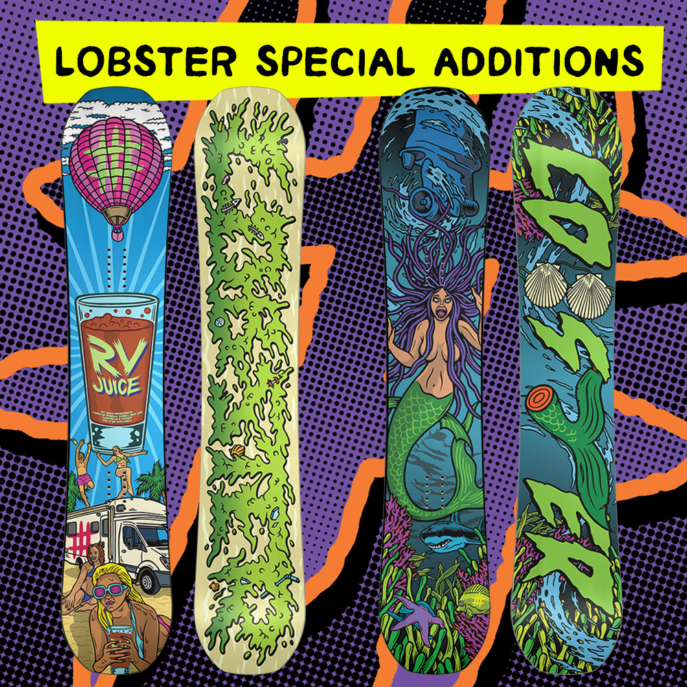Lobster Snowboards Special Additions
