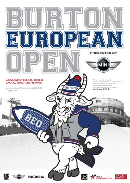 Burton European Open dates announced!