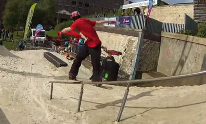 Marc 'Gladis' McClement – The Slopestyle Jive