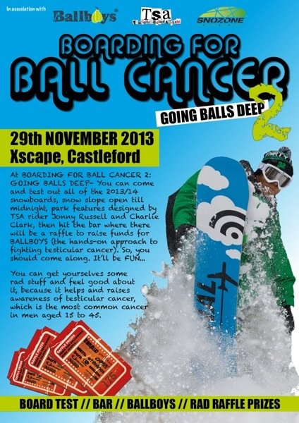 BOARDING FOR BALL CANCER 2