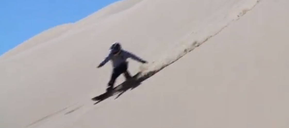 Every Third Thursday: Snowboarding In The California Desert
