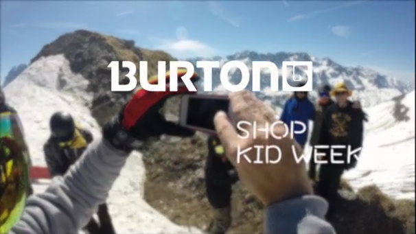 Burton Shop Kid Week