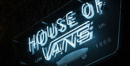 House of Vans – Opens 9th August!