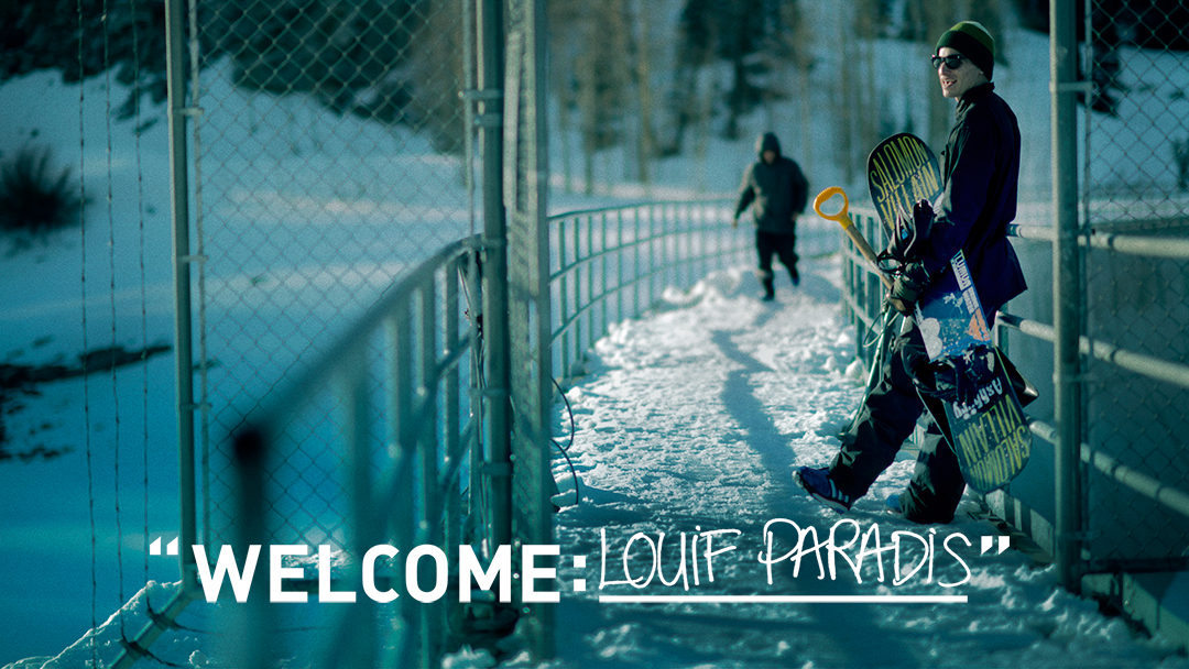Louif Paradis joins the Adidas team!