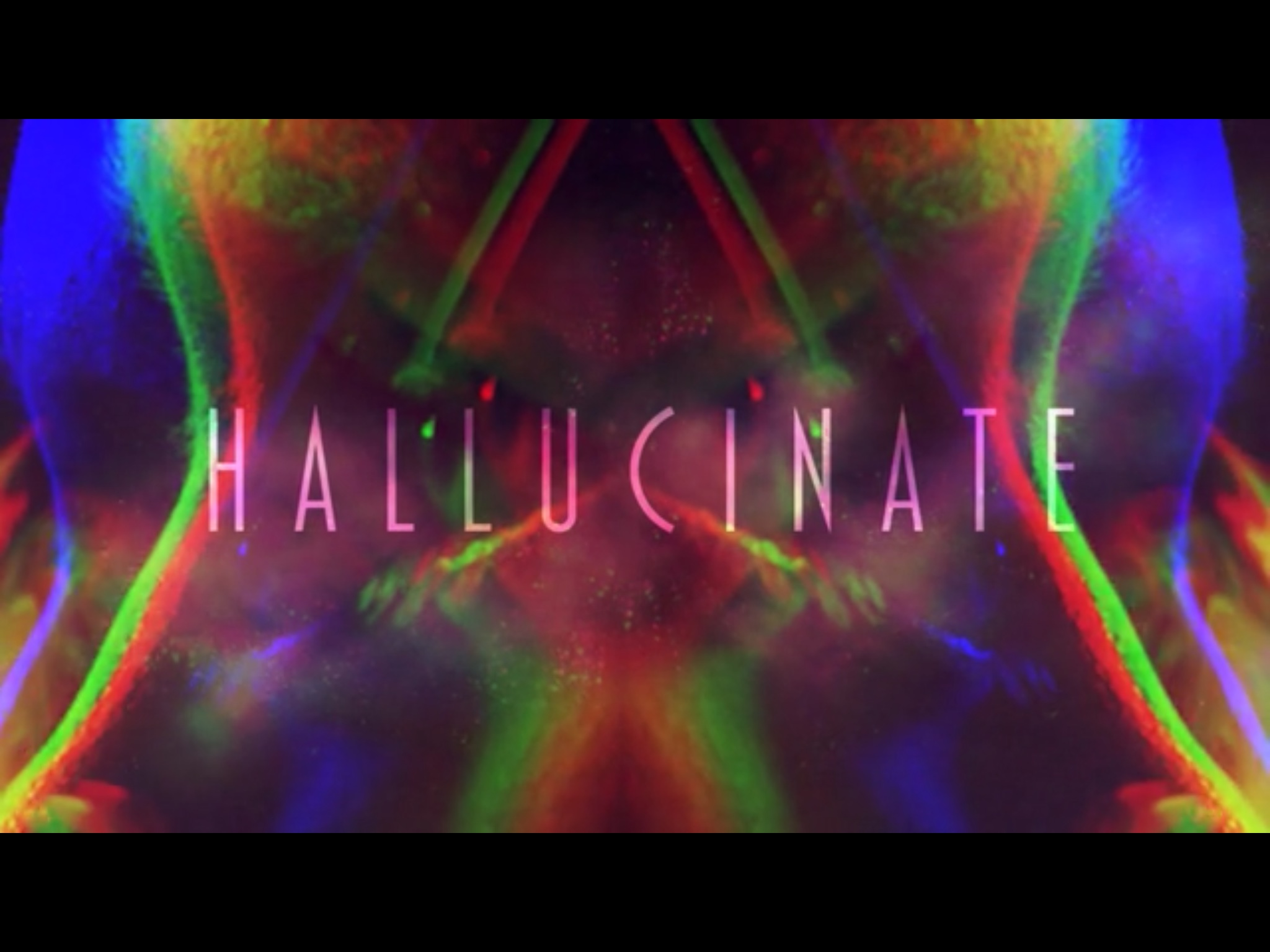 The Grindhouse: Hallucinate intro.
