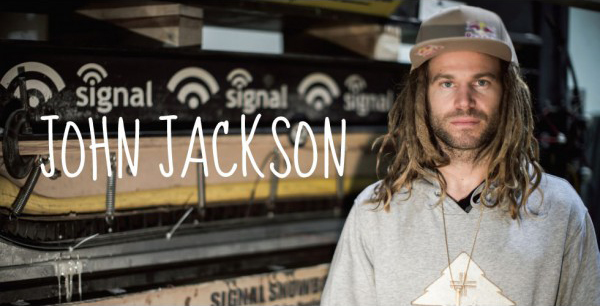 John Jackson signs for Signal Snowboards