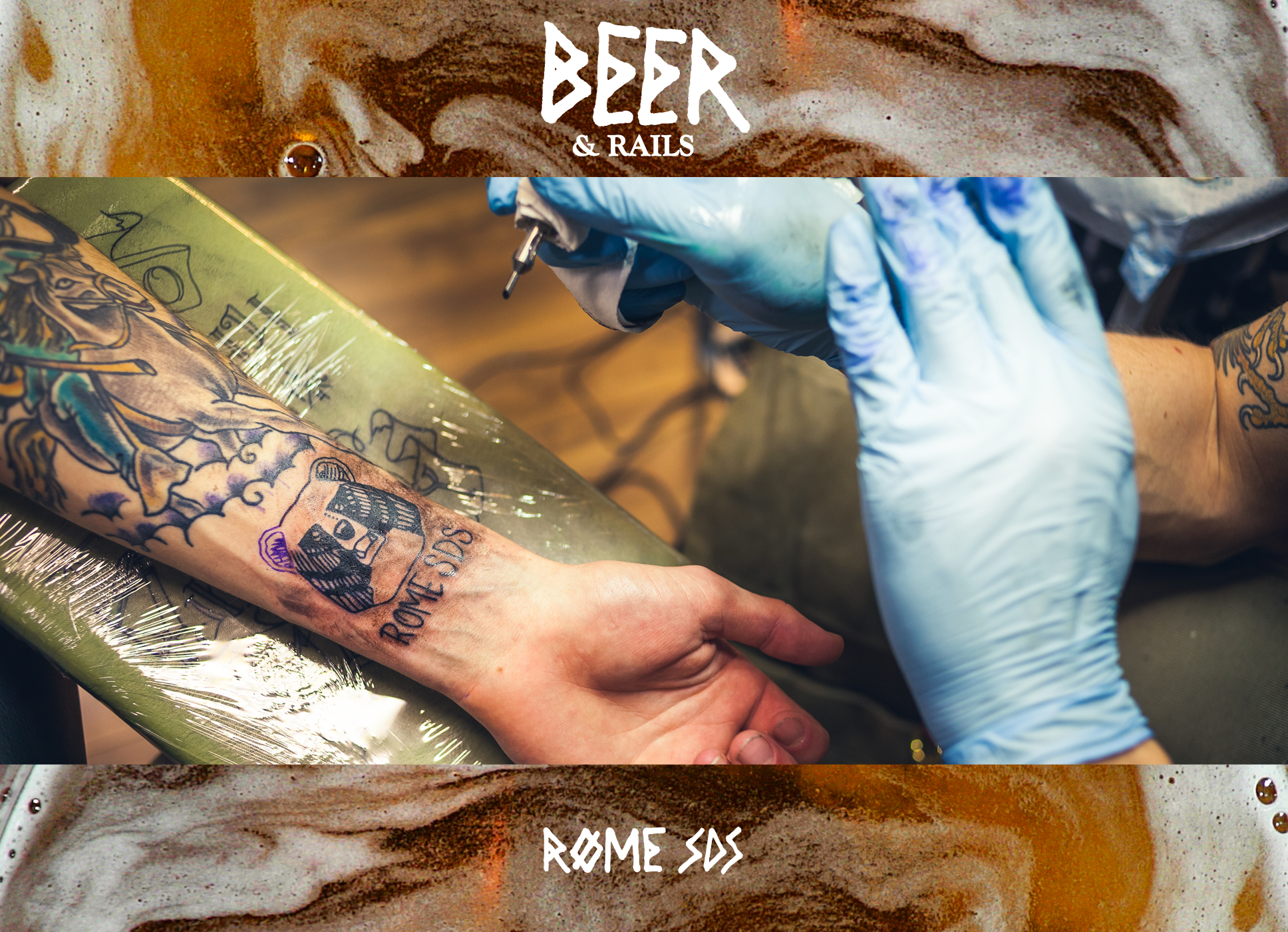 Rome's Beer and Rails is live now!