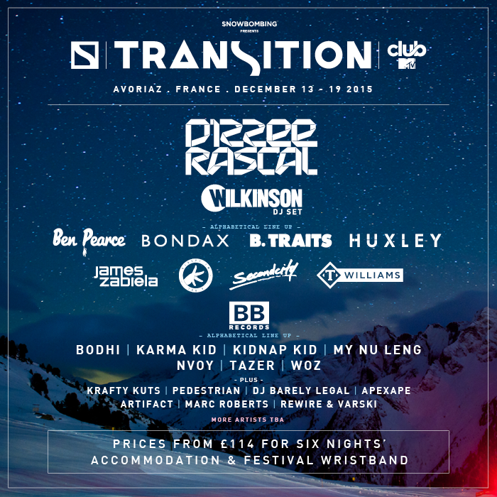 Transition Festival is coming to Avoriaz