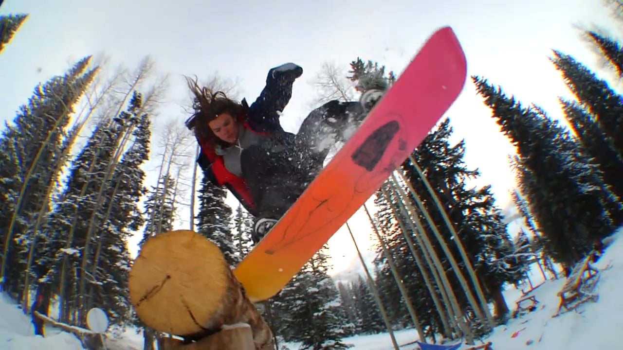 Tommy Gesme on Salomon Snowboards