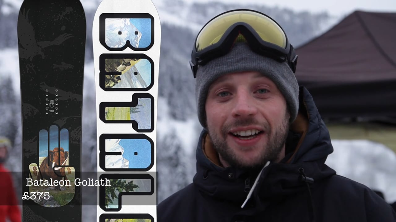 Top Three – Matt from Absolute Snow shows us his favourites