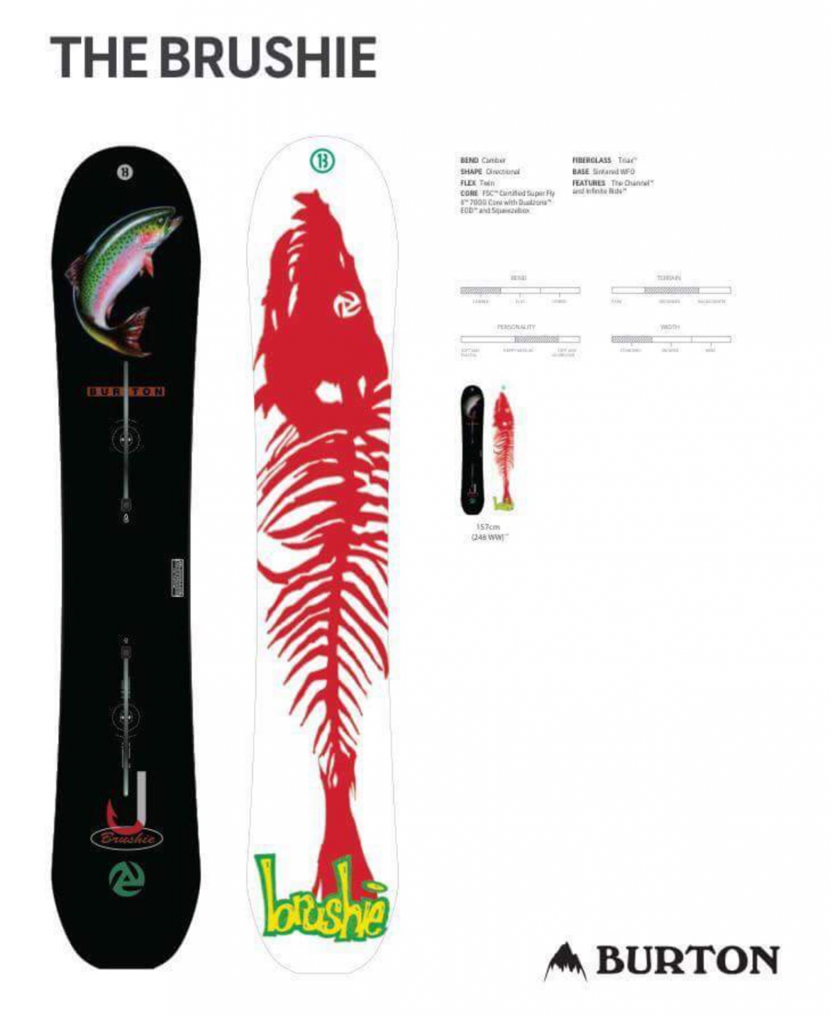 380785d6261 Burton to reissue the Brushie  trout  model  · The Reason