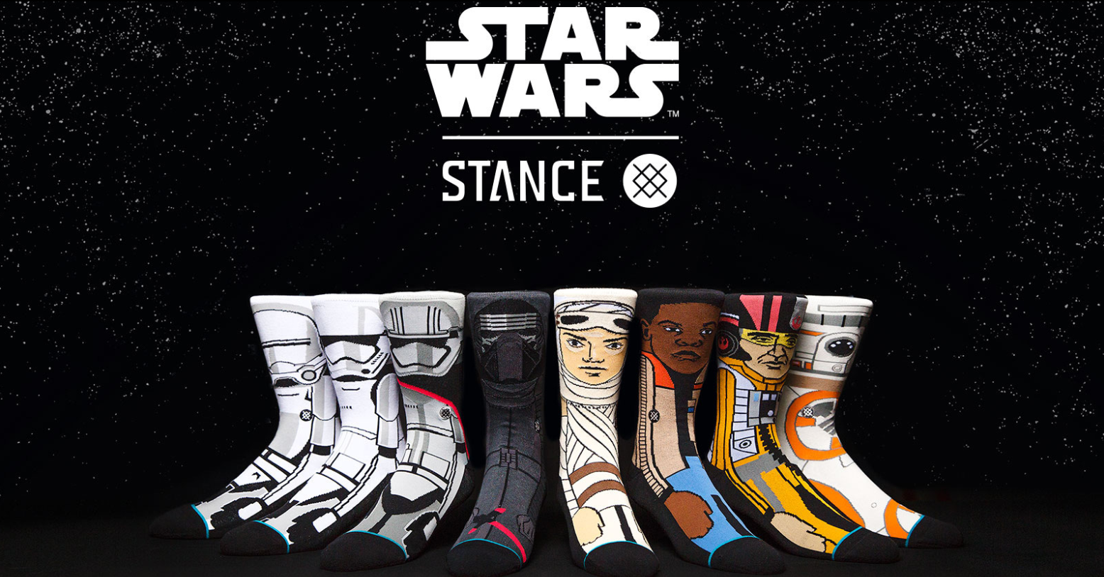 Nerd Alert! New Stance Star Wars socks are in stores now!