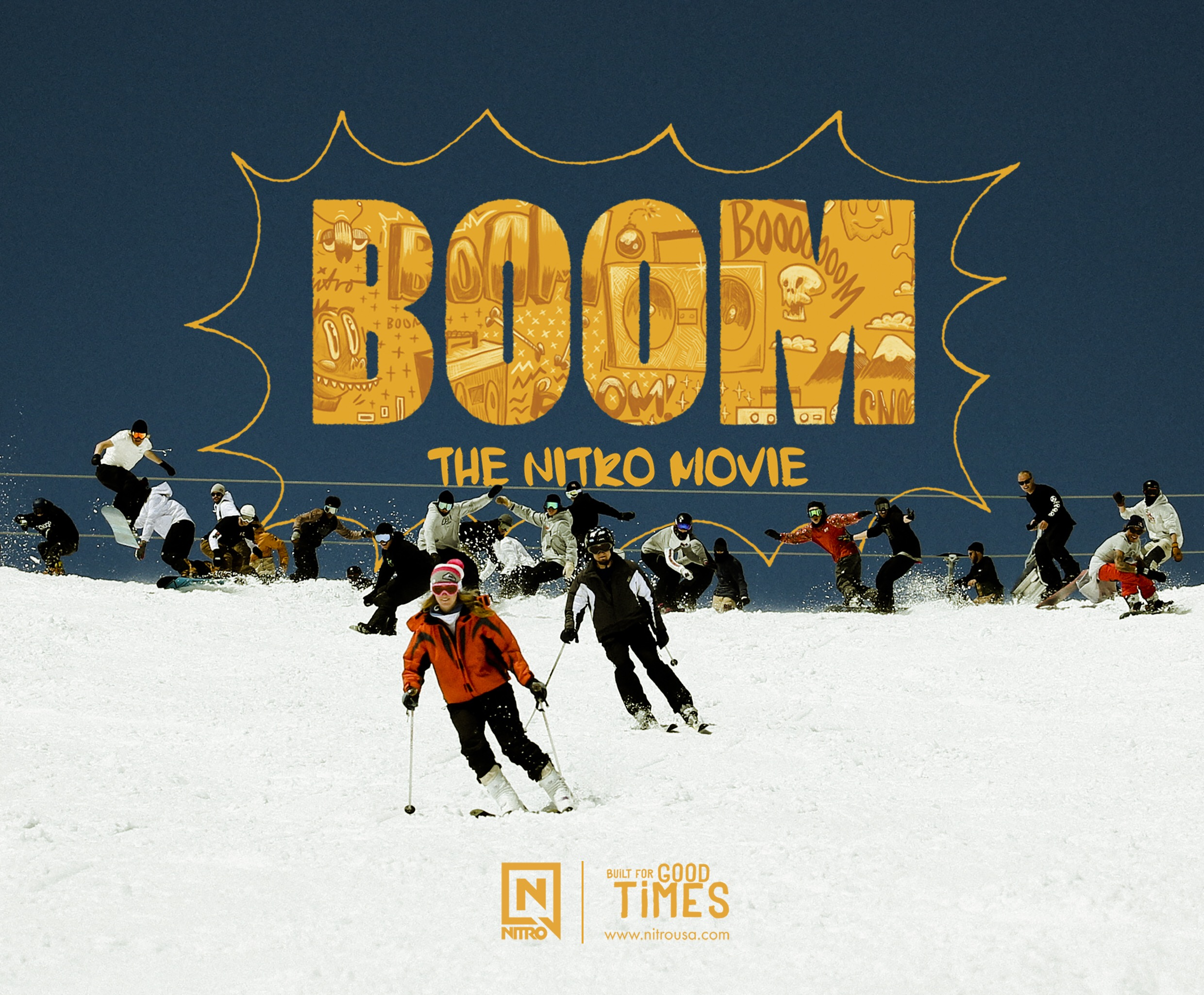 'Boom!' – Nitro's new team movie will be live on the 5th September