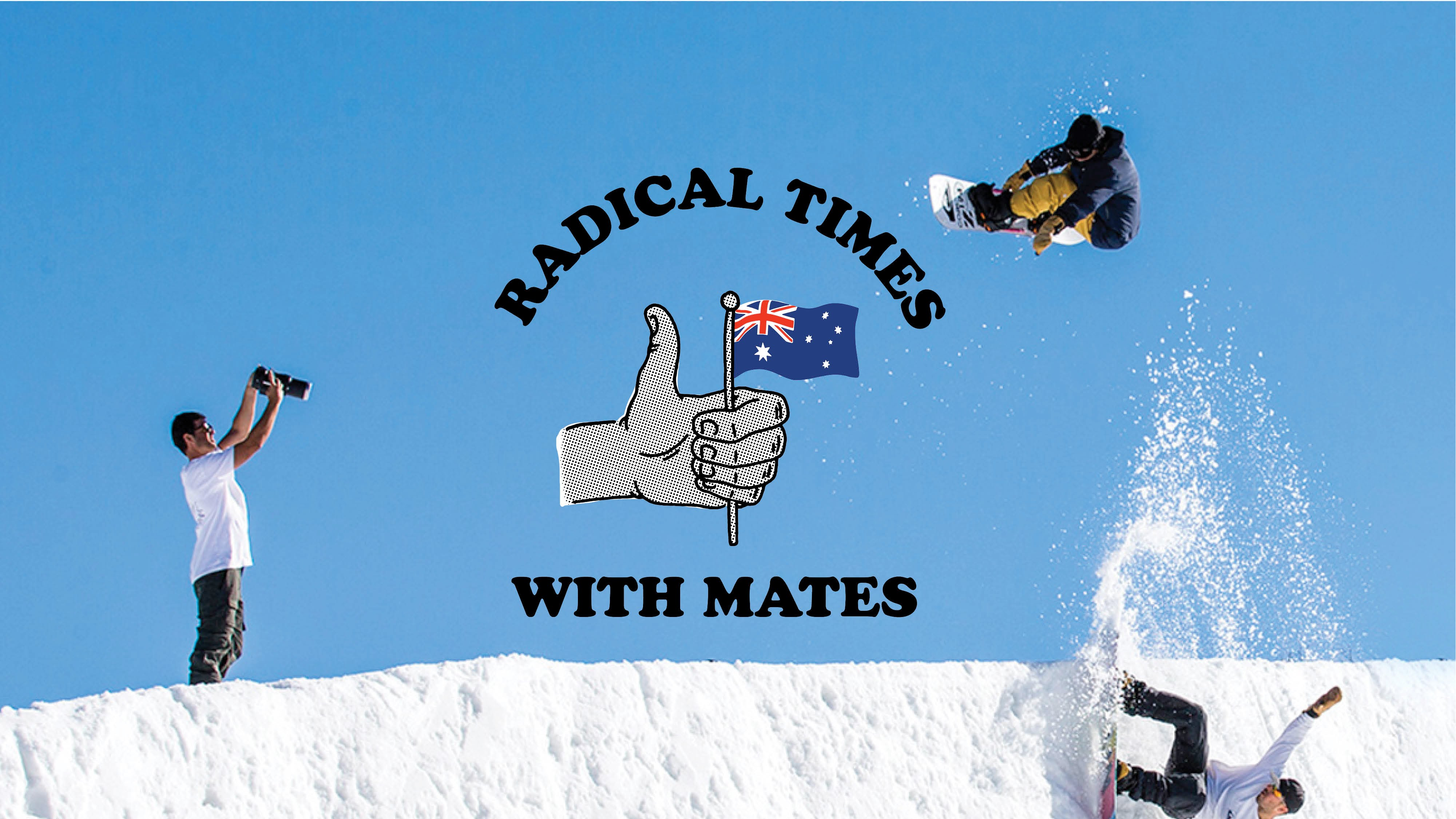 Quiksilver presents 'Radical Times with Mates'