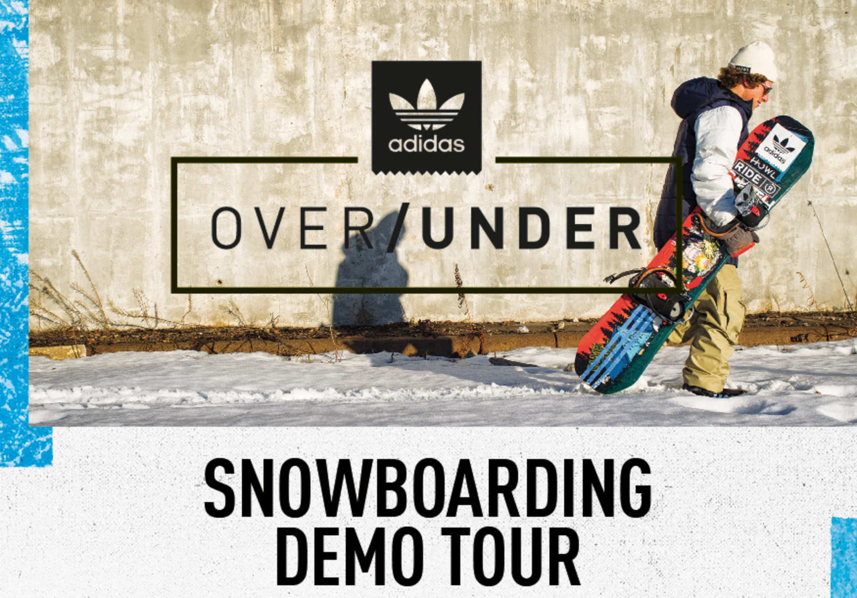 The Adidas Over/Under UK demo tour 2016
