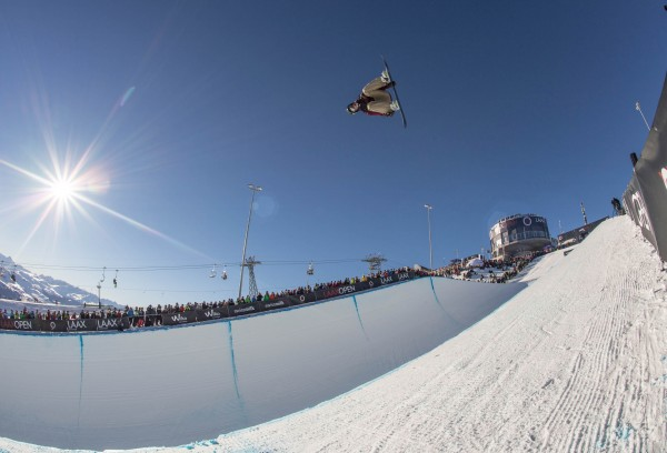 Chase Josey – Men's Halfpipe champion. Photo: Marcel Lämmerhirt