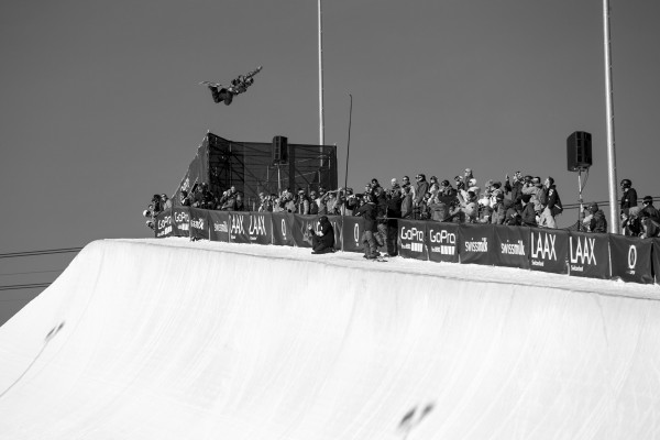 LAAX OPEN 2016, Halfpipe Finals Men. Photo: Laax Open