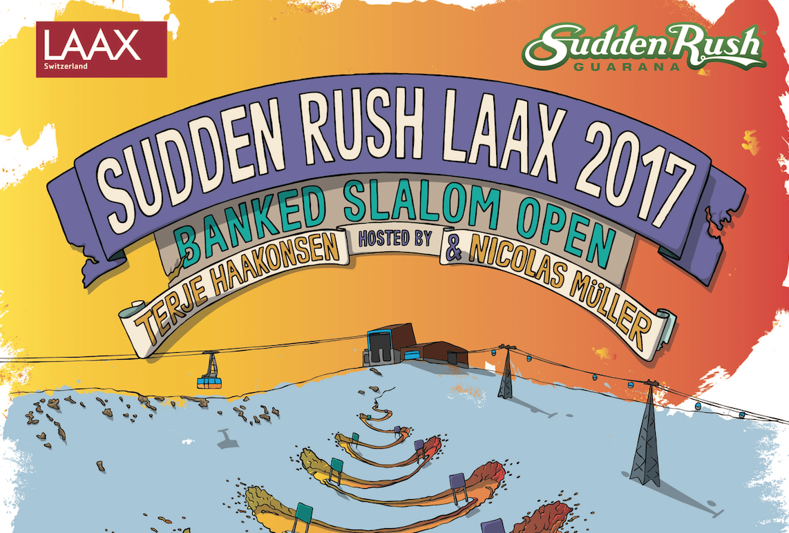 The Sudden Rush Banked Slalom