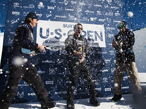 Chloe Kim and Shaun White win the US Open halfpipe