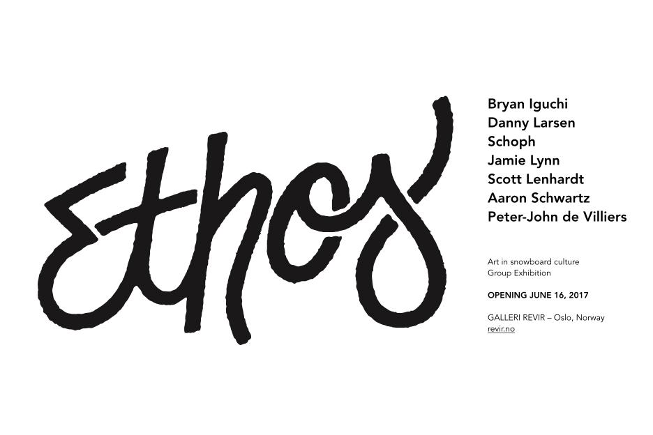 Ethos art show coming up in Olso