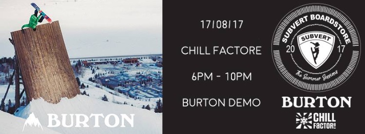 Burton 2018 product demo – Subvert Sessions