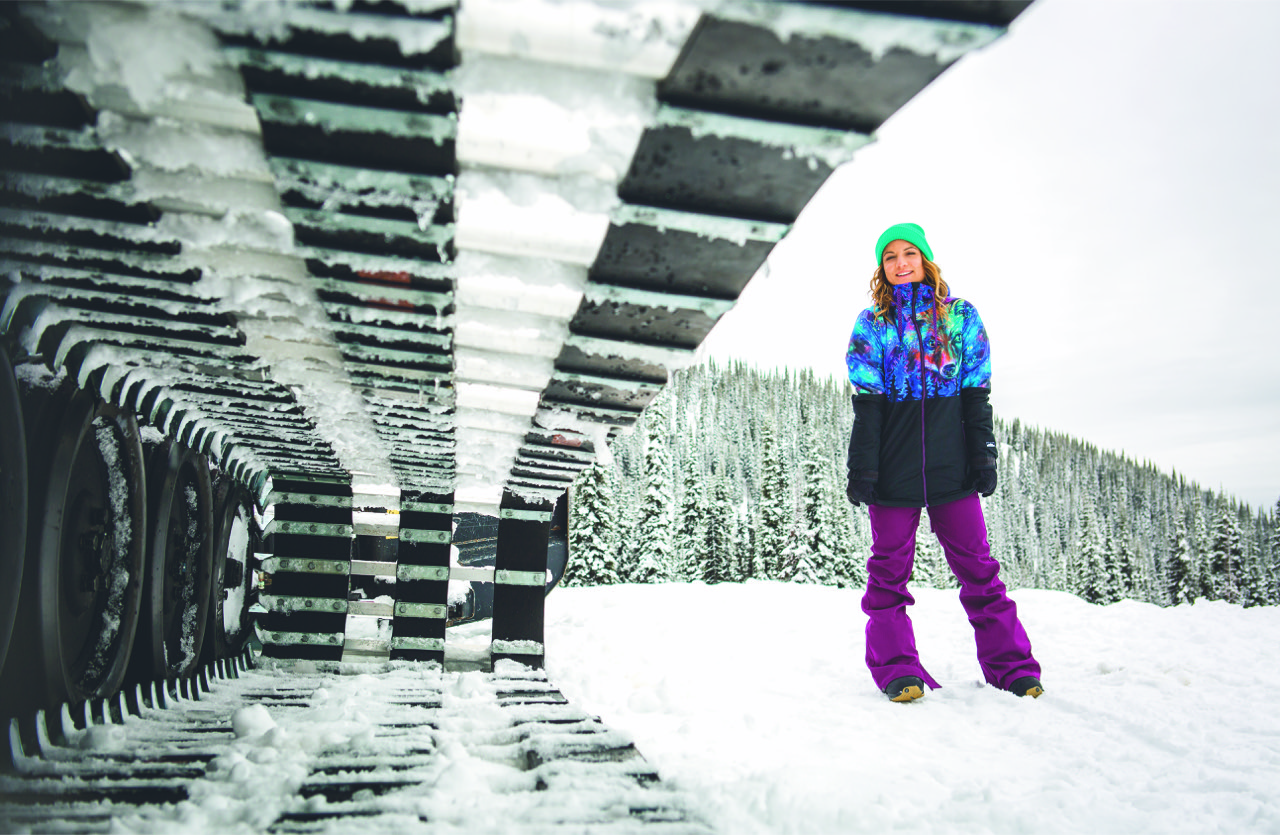 VOLCOM'S BOARDING FOR BREAST CANCER OUTERWEAR COLLAB