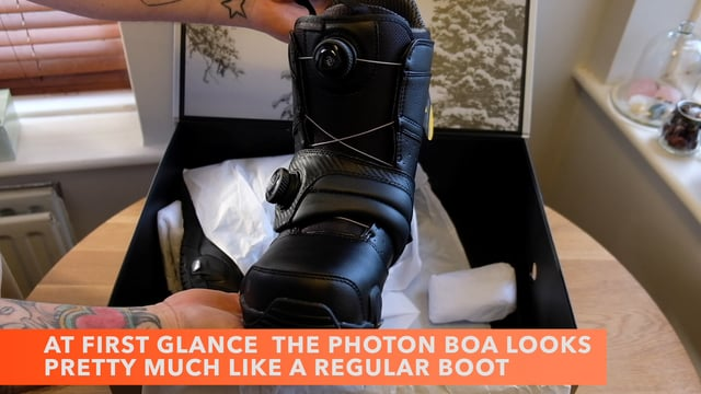Burton StepOn first unboxing