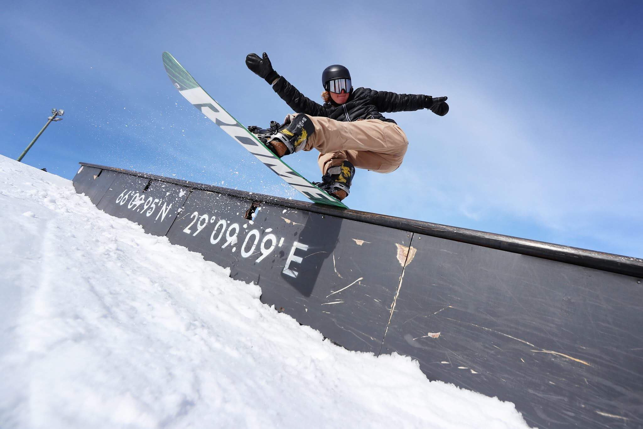 Rene Rinnekangas – another sick new Am for Rome Snowboards