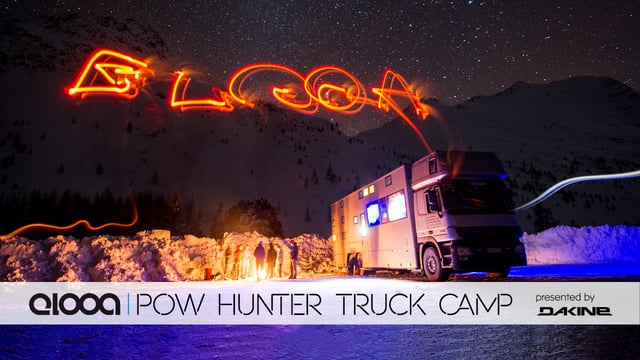 elooa POW HUNTER TRUCK CAMP – Powder Highlight with Elias Elhardt!