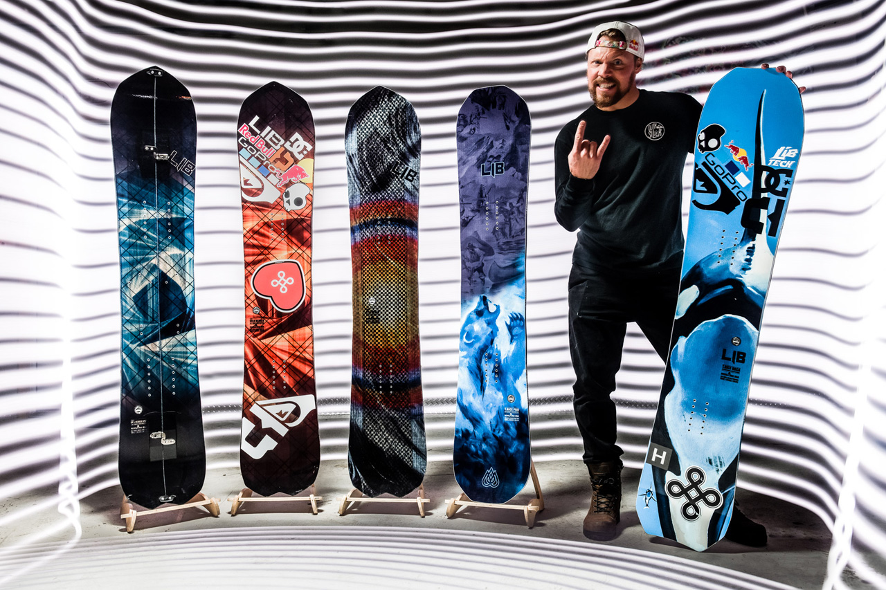 Lib Tech Dream Boards – The Travis Rice Collection