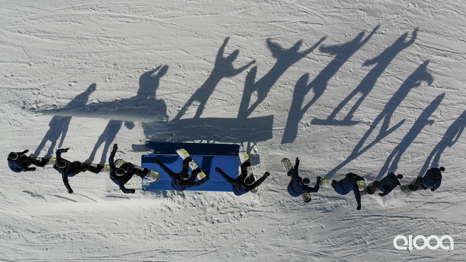 The first winter camp of the season went down in Kaunertal last week