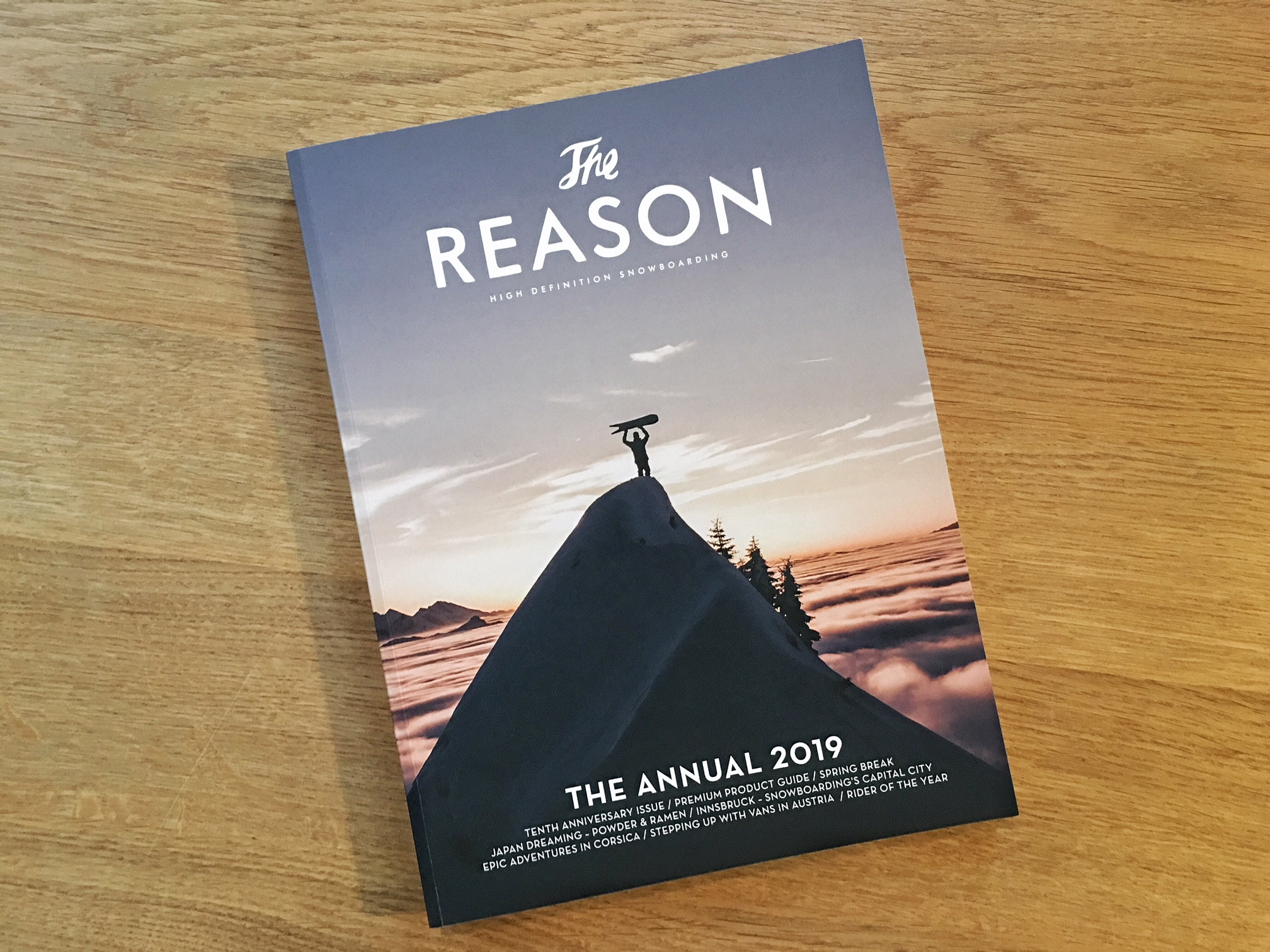 The Reason Annual 2019 –In stores now!