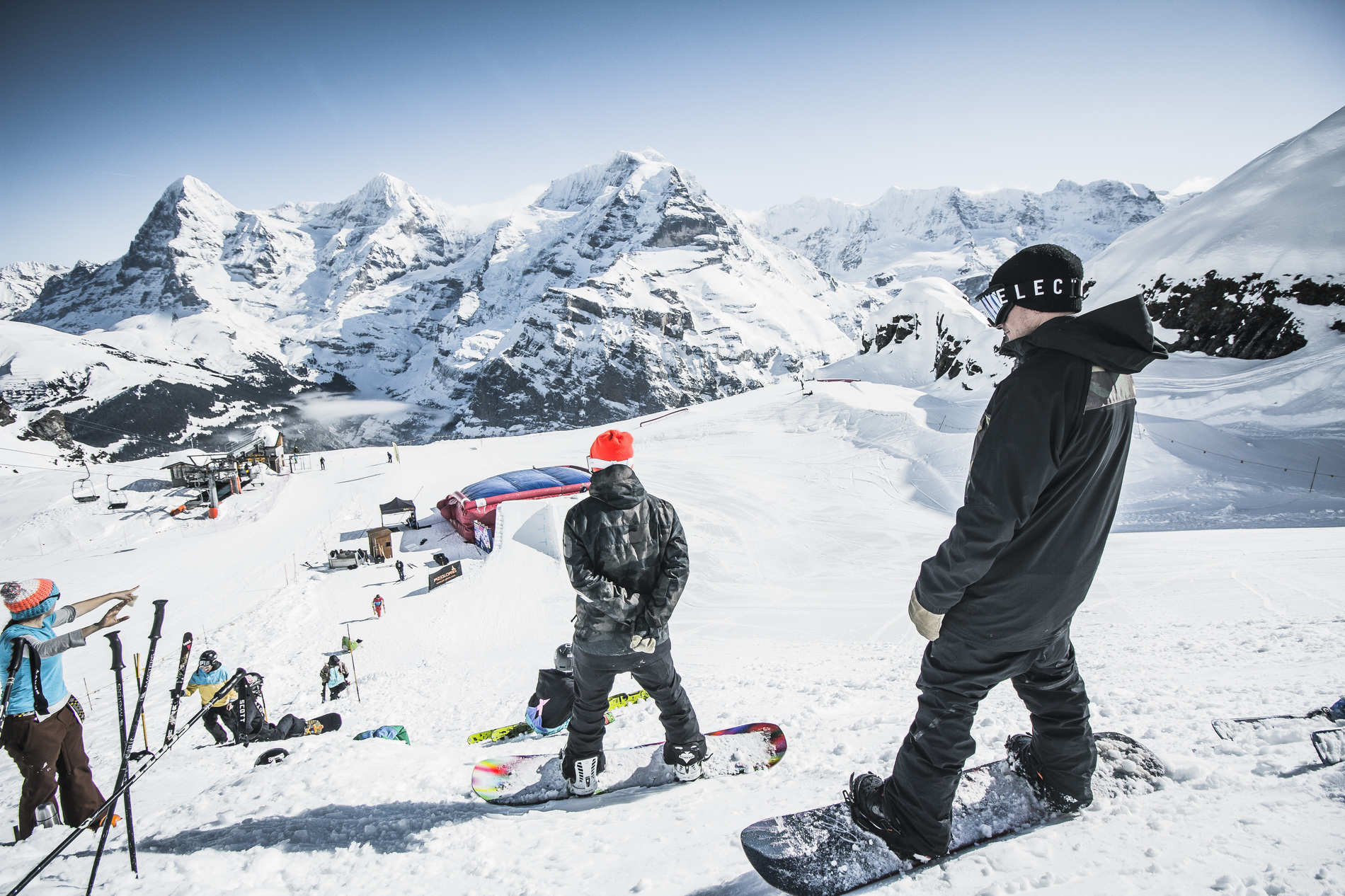 Park Life Schilthorn – Swiss shred terrain at it's best